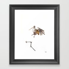 Lark Framed Art Print