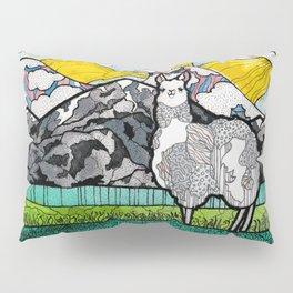 Llama and Andes Pillow Sham