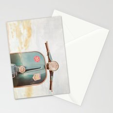 The Blue Vespa Stationery Cards