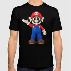 Skull Mario Black X-LARGE Mens Fitted Tee
