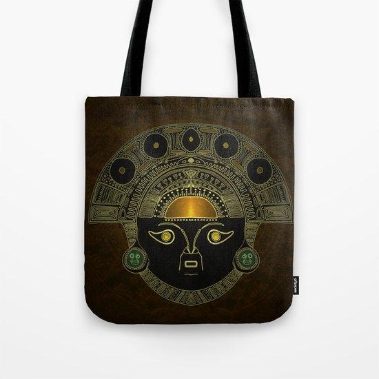 God Sun mask (INTI) Tote Bag