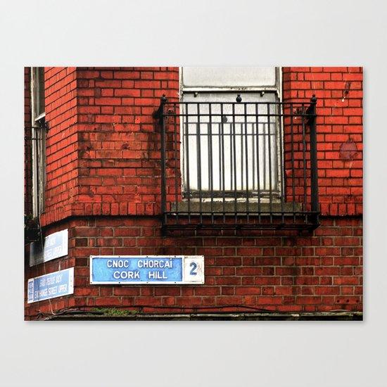 Exchange St. & Cork Hill Canvas Print