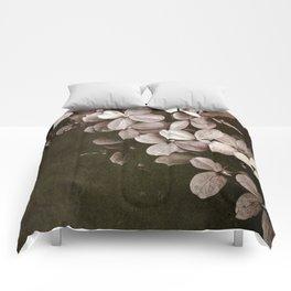 hydrangea too Comforters
