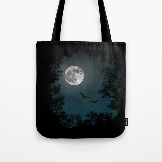 Looking through the trees Tote Bag