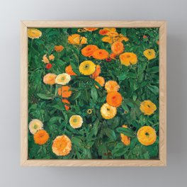Marigolds by Koloman Moser, 1909 Framed Mini Art Print