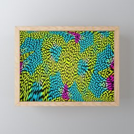 Colorandblack serie 123 Framed Mini Art Print
