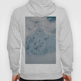 White peak - Landscape and Nature Photography Hoody