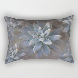 Our Succulent Garden Rectangular Pillow
