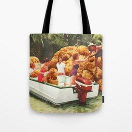Fried chicken drive-thru Tote Bag
