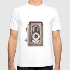 Kodak Duaflex  White MEDIUM Mens Fitted Tee