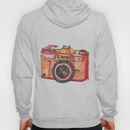 retro camera phone case Hoody